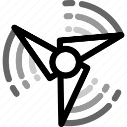 fast, fidget, rotation, spining, spinner, toy, widget icon