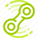 fast, fidget, rotation, spining, spinner, toy, widget icon