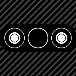 bar, dualbar, fidget spinner, hand, spin, spinner icon