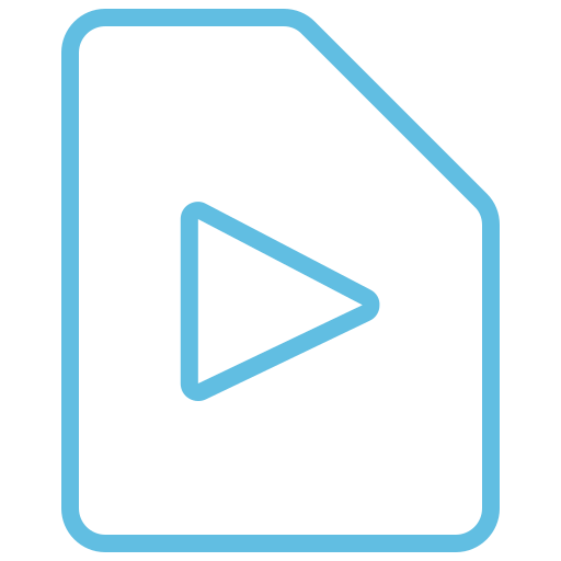 avi, document, file, filetypes, format, video, video icon icon