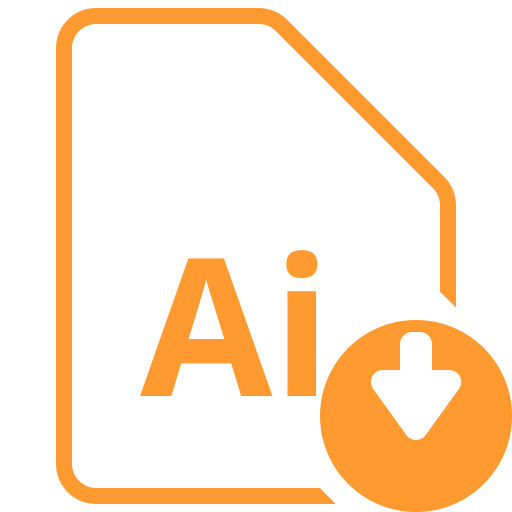 adobe, ai icon, design, document, file, illustrator icon