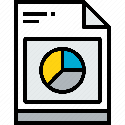business, data, document, file, paper icon