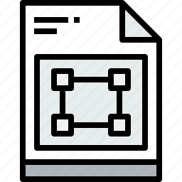 business, document, file, graphic, paper icon