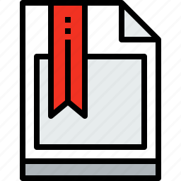 business, document, file, mark, paper icon
