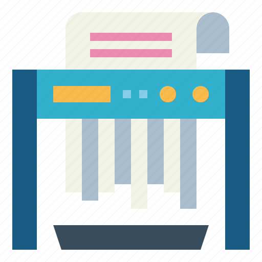 Electronics, office, paper, shredder icon - Download on Iconfinder