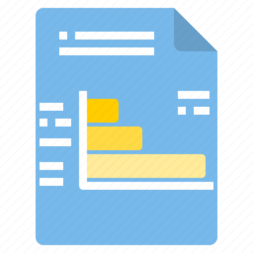 bar, chart, document, file, form, interface icon