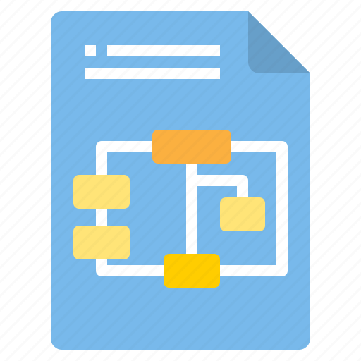 algolithm, chart, document, file, form, interface icon