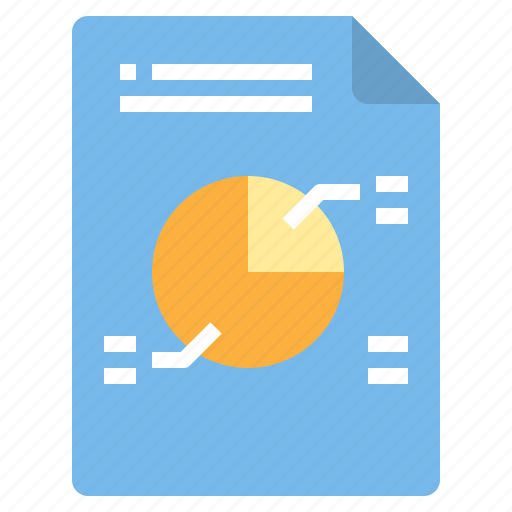 chart, circle, document, file, form, interface icon