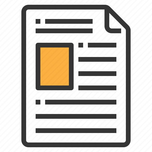 document, form, interface, profile icon