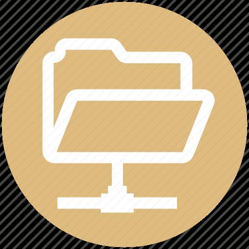.svg, connection, data, folder, share, sharing icon
