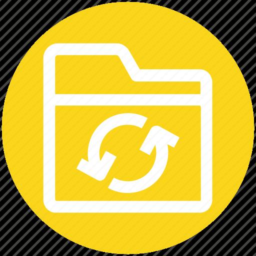 .svg, document, files, folder, loading, sync icon