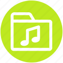 .svg, directory, media, music, music folder, songs icon