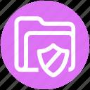 secure, safe folder, archive, .svg, file, security, folder icon