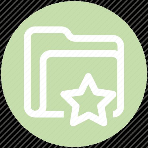 .svg, category, favorite, folder, star, storage icon - Download on Iconfinder