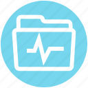 graph, storage, .svg, folder, data, archive icon