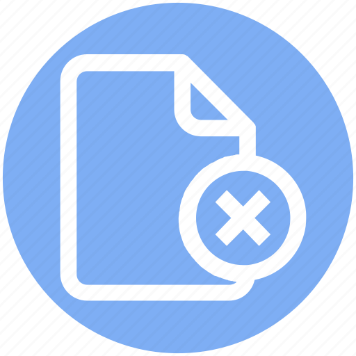 .svg, cross, cross file, document, file, reject icon - Download on Iconfinder