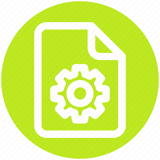 .svg, document, file, gear, setting, setup, system icon