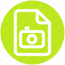 .svg, camera, file, image, paper, photo icon