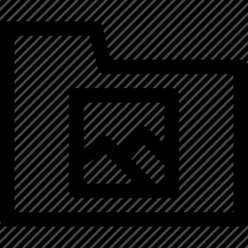 file, file icon, folder, folder icon, image, image icon, outline icon