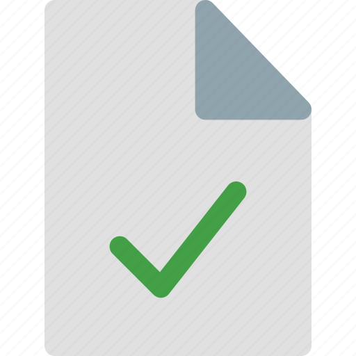 approve, approve file, approve icon, file, file icon, folder, new file icon