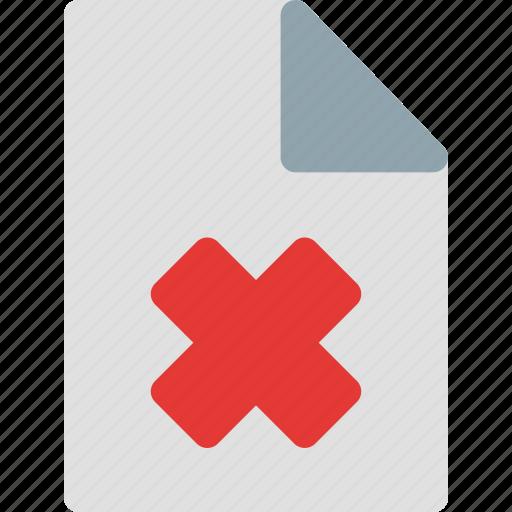 file, file icon, folder, remove, remove file, remove icon icon