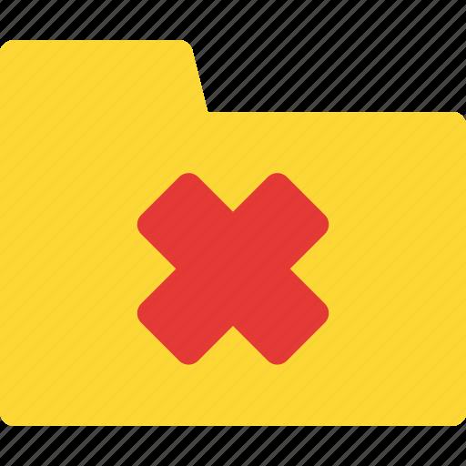 file, folder, folder icon, new folder, reject folder, reject icon icon