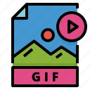 document, gif, file, archive