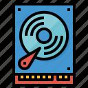 data, drive, files, hard icon