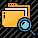 data, file, find, search, seek icon