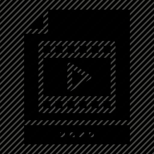digital, mp4, mpeg4, multimedia icon