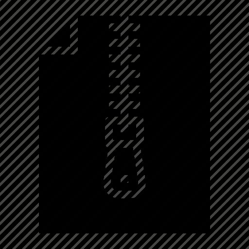 compression, data, lossless, zip icon
