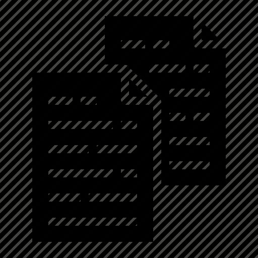 copy, document, duplicate, file icon