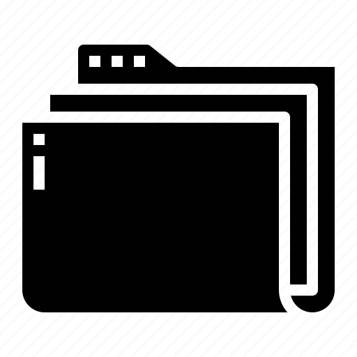 archive, document, folder, interface icon
