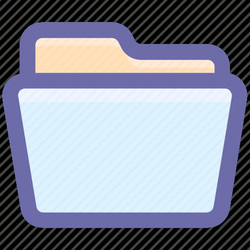 archive, docoments, documents, empty folder, folder, folder open, office icon