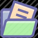 data, document, document folder, documents, file and folder, files, files and folder, folder icon