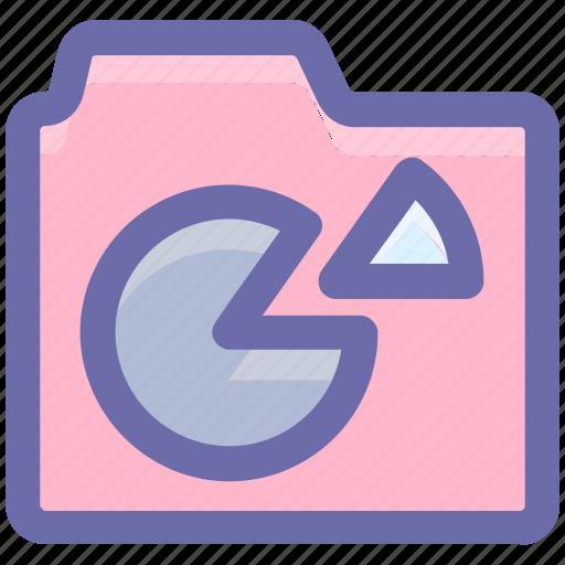 chart, data, diagram, document, folder, graph, graphics icon