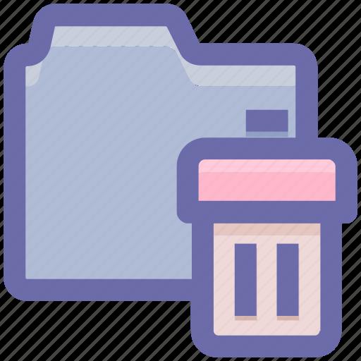 Bin, directory, dustbin, folder, garbage, trash icon - Download on Iconfinder