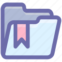 category, favorite, folder, label, rating, ribbon, special, tag icon
