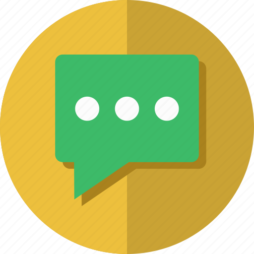 chat, material, message, messenger icon