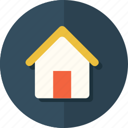 building, estate, home, house, material, real icon