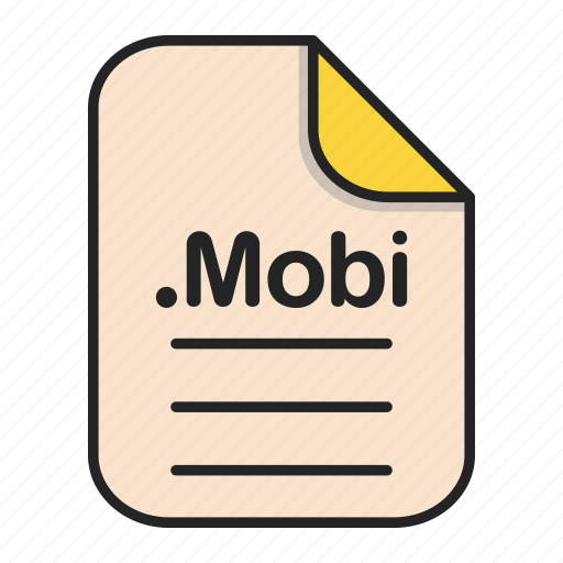 document, file, format, mobi, text icon