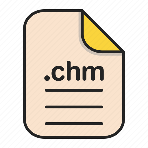 chm, document, file, format, text icon