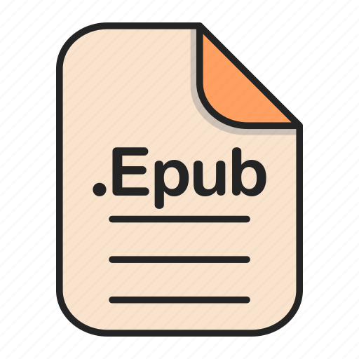 Document, epub, file, format, text icon - Download on Iconfinder