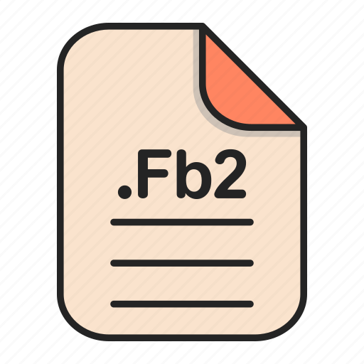 Document, fb2, file, format, text icon - Download on Iconfinder