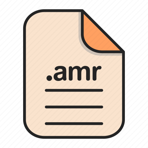 Amr, audio, document, extension, file, format icon - Download on Iconfinder