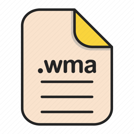 Document, extension, file, format, video, wma icon - Download on Iconfinder