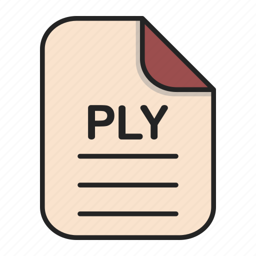 Document, file, file 3d, format, ply, type icon - Download on Iconfinder