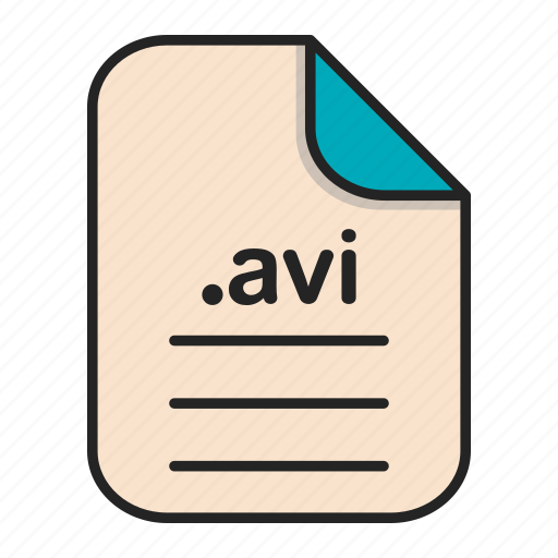 Avi, document, extension, file, format, video icon - Download on Iconfinder