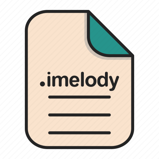 Audio, document, extension, file, format, imelody icon - Download on Iconfinder