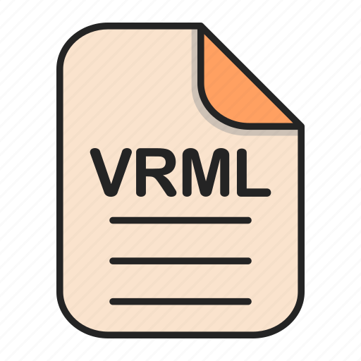 Document, file, file 3d, format, type, vrml icon - Download on Iconfinder
